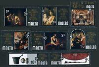 Malta 409-416 bl./4,MNH.Mi 401-408. Europe Art Exhibition,Order St John in Malta