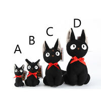 New Kiki's Delivery Service Jiji Cat plush Doll Soft Toy For Kid Christmas Gift