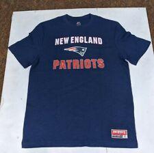 New England Patriots Majestic Mens T-Shirt NEW Large
