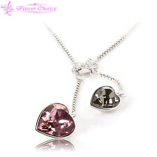 Twines Sweet influence hearts necklace Top women Fashion Jewellery