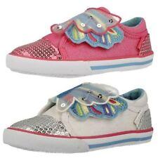 Chaussures à attache auto-agrippant en toile pour fille de 2 à 16 ans