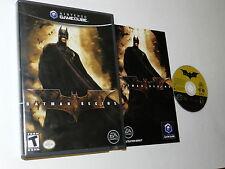 Batman Begins Nintendo GameCube Video Game Complete
