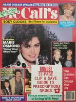 McCall's Vintage Magazine July 1988 - Marie Osmond - Carol Burnett - No Label EX
