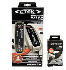 CTEK MXS 5.0 Batterie Chargeur 56-305 12V 5A Compensation température + BUMPER