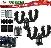ATV Gun Bow Rack Rifle Mount Shotgun Pole Flexible Grips UTV Holder Automotive