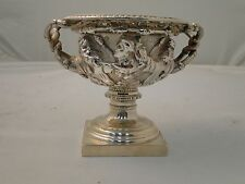 SMALL WARRICK VASE, STERLING SILVER LONDON 1909 ANTIQUE FULLY MARKED