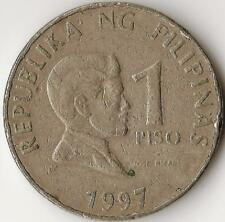 PHILIPPINES 1 PISO 1997,  KM269, copper-nickel