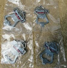 Lot of 4 Magners Irish Cider Beer Bottle Opener / Keychains NEW SEALED Free Ship