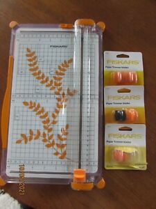 FISKARS PAPER TRIMMER PLUS NEW BLADES