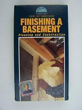 Finishing a Basement VHS Video