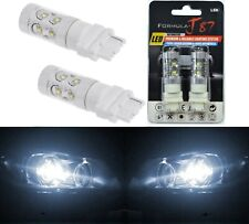 LED Light 50W 3156 White 5000K Two Bulbs Front Turn Signal Replacement Upgrade