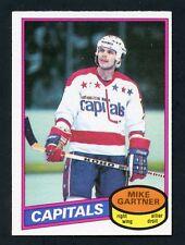1980-81 OPC # 195 Mike Gartner Rookie RC
