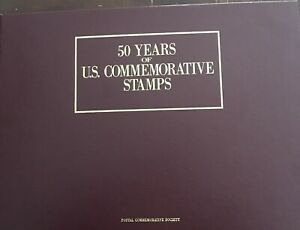 50 Years of US Commemorative Stamps