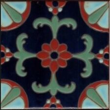 Gorgeous Decorative Hand-Painted Tiles ~ Pool Safe ~ Available in 6x6 or 5x5