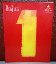 THE BEATLES 1 TRANSCRIPTIONS WITH NOTES & TABLATURE GUITAR MUSIC SONG BOOK ~137~
