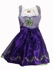 Stockerpoint Dirndl Jasmin violett 32 34 36 38 40 42 44 Tracht Wiesn lila Midi