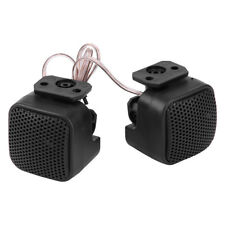 1 Pair Universal Super Power Loud Square Car Audio Speaker Tweeter 12V 97DB SM