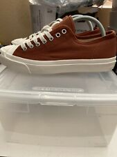 NEW Converse JACK PURCELL Clay Brown Sz 8m/ 9.5w DS UNDER RETAIL! *NO OG BOX*