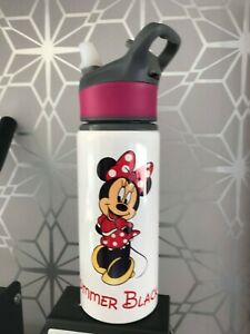 minnie Mouse  Personalised Kids Drinks Sports Children's Water Bottle ...