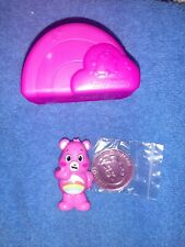 Care Bears 2020 ♡ Cheer Bear ♡ New - Collectible Figure & Coin - Opened