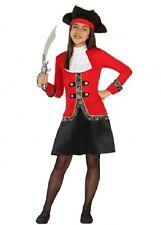 Déguisement Fille Pirate 7/8/9 ans Costume Enfant Capitaine film