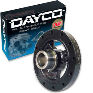 Dayco Engine Harmonic Balancer for 1966-1973 Chevrolet K10 Pickup 5.0L 5.3L mg