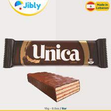 Ÿ‡Ÿ‡ Lebanese UNICA Wafers | Dark Chocolate 15G | Tasty Snacks and Sweets Online