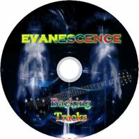 EVANESCENCE GUITAR BACKING TRACKS CD BEST GREATEST HITS MUSIC PLAY ALONG JAM