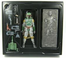 "Star Wars Black Series 6"" Inch Exclusive Boba Fett & Han Solo in Carbonite"
