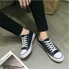 Men Women Athletic Low High Top Casual Canvas Sneakers Shoes Unisex Fashion