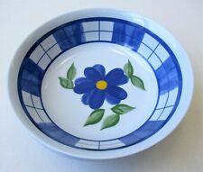 """Melamine Pasta Soup Salad Cereal Rice Bowls Floral Design 7"""" Bowl Set of 4"""