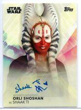 ORLI SHOSHAN as Shaak Ti / Women of Star Wars Autograph Card A-OS