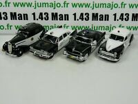 Lot 4 X 1/43 Police Du MONDE USA IST Chrysler Buick Ford Plymouth PM1 22 23 41