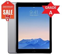 Apple iPad Air 2 16GB, Wi-Fi + 4G (Unlocked) 9.7in Space Gray (Latest Model) (R)