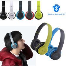 4.1 Stereo Wireless Bluetooth Headphone Microphone Portable Sport Headset P47