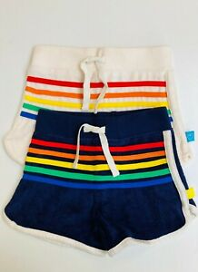 Towelling Shorts Ex Little Bird Mothercare Rainbow Stripe 9m to 9Yrs NEW