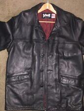 Schott Leather Jacket - Mens Size 44 - Black