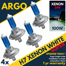 4x Replacement XENON H7 24v 70/100w Lorry Truck Tractor Head Lamps Light Bulbs 2