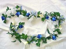 CUSTOM COLORS Calla Lily Rose Garland ~ Silk Wedding Flowers ~ Arch Gazebo Decor