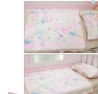 Sanrio Little Twin Stars Soft Flannel Blanket Bed Sheet Comfortable Wonderful US