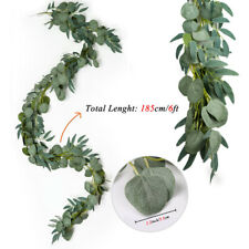 Artificial Eucalyptus Garland Artificial Willow Leaves Greenery Wedding Party