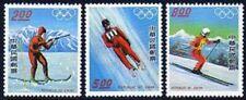 Taiwan 1972-1974, MNH. Mi 1121-23. Olympic Innsbruck-1976. Biathlon, Luge,Skiing