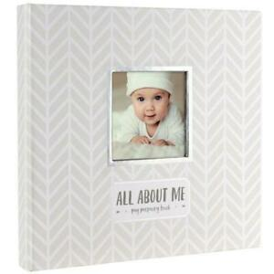 All About Me Baby Memory Book & Belly Sticker Gift Set : Baby Memory Books