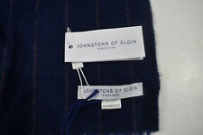 Johnstons of Elgin since 1797 scarf made in Scotland merino wool and angora NWT