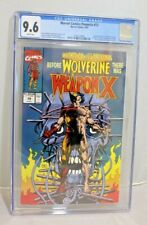 Marvel Comics Presents #72 CGC 9.6 - Wraparound Cover - Origin of Wolverine