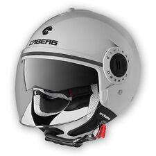 CASCO MOTO SCOOTER JET DEMI-JET CABERG RIVIERA V3 WHITE BIANCO TG. XL