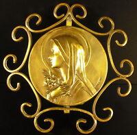 Medal Mantis XIX Th Religious H:11,5 cm Medal