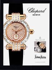 PRINT AD 1998 CHOPARD GENEVE IMPERIALE NEIMAN MARCUS WATCH