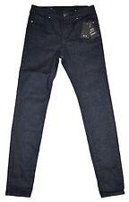 Armani Exchange (AX) Super Skinny Black Jeans/ Pants Women's Size 24 New + Tags