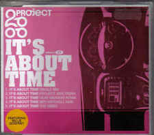 Project 2000-Its About time cd maxi single incl video eurodance holland